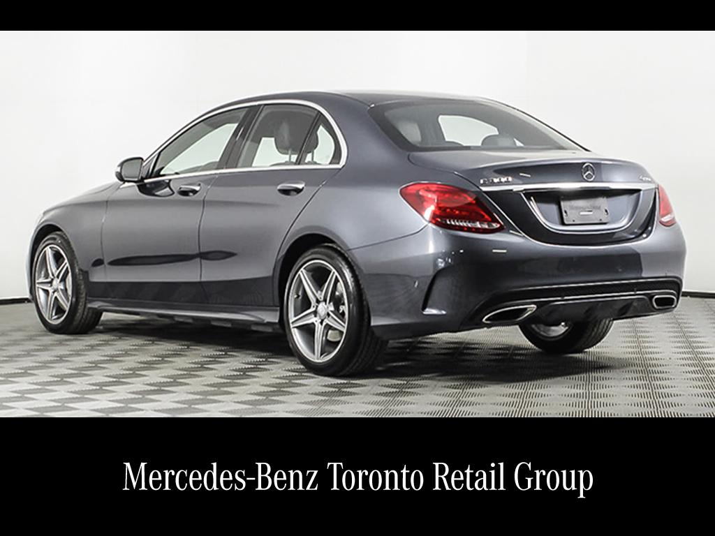 mercedes class owned pre used etobicoke sedan all benz c wheel drive door in inventory