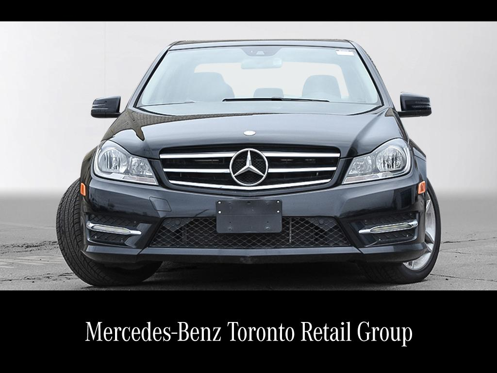 Certified pre owned 2014 mercedes benz c class c300 4 door for Mercedes benz c class pre owned